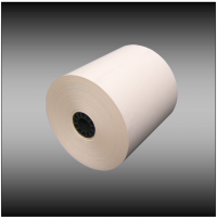 "4 3/8""  x 328' 55g Thermal with 7/16"" core - (24 rolls per case)"