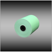 "3 1/8"" x 230' Green Thermal Paper (50 rolls per case)"