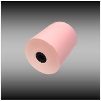 "3"" x 165' 1-ply Light Pink Bond Paper (50 rolls per case)"