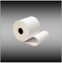 "3"" x 190' 1-ply Bond Paper (50 rolls per case)"