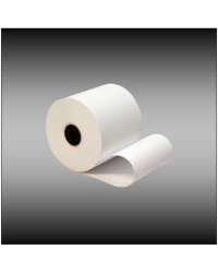 "3"" x 150' Single-ply Bond Paper (50 rolls per case)"